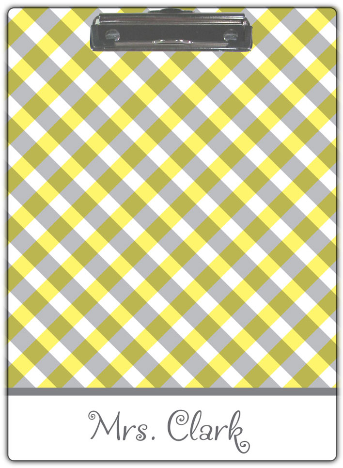 Yellow-Gingham
