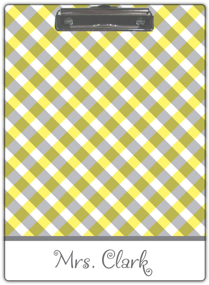 Yellow-Gingham