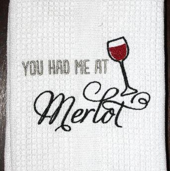 Merlot Dish Towel